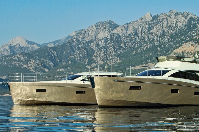 All-inclusive yacht daycruises from Pula or Rovinj