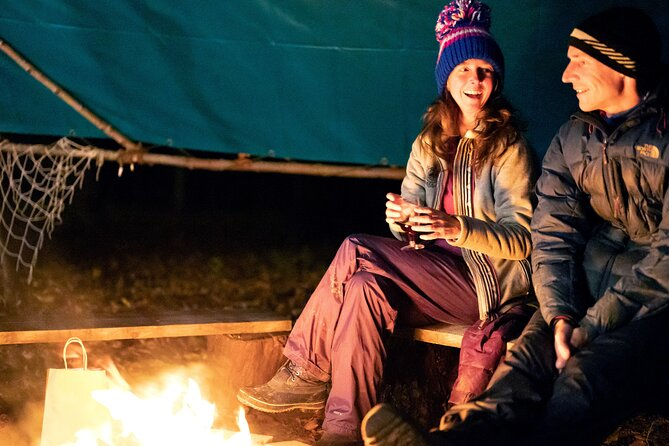 Small group Campfire Evening Experience in North Leigh
