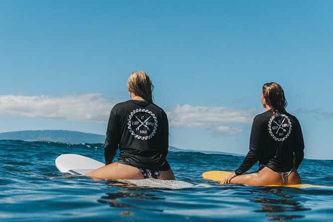 Semi-Private 2 hours Surf Lesson in Lahaina