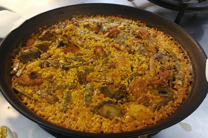 Virtual Valencian Paella Cooking Class