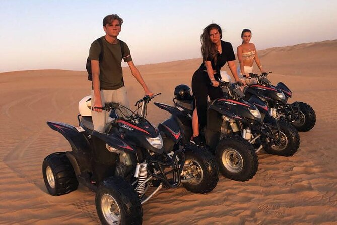 Evening Red Desert Safari With Quad Bike