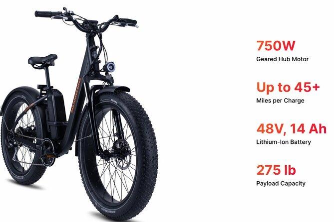 Cody E-Bike Rental with Free Use of Helmet