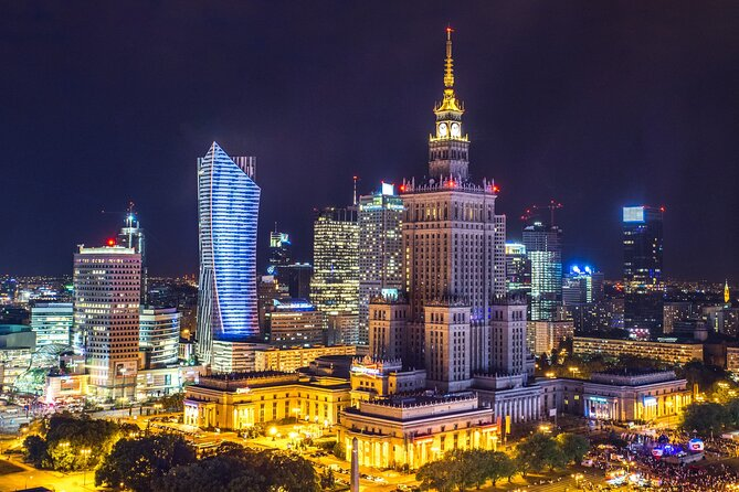 Private transfer from Krakow to Warsaw