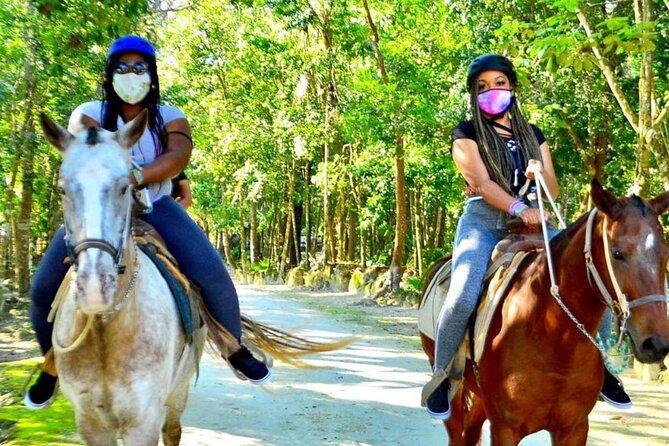Extreme Horses Adventure with ATV, Ziplines & Cenote
