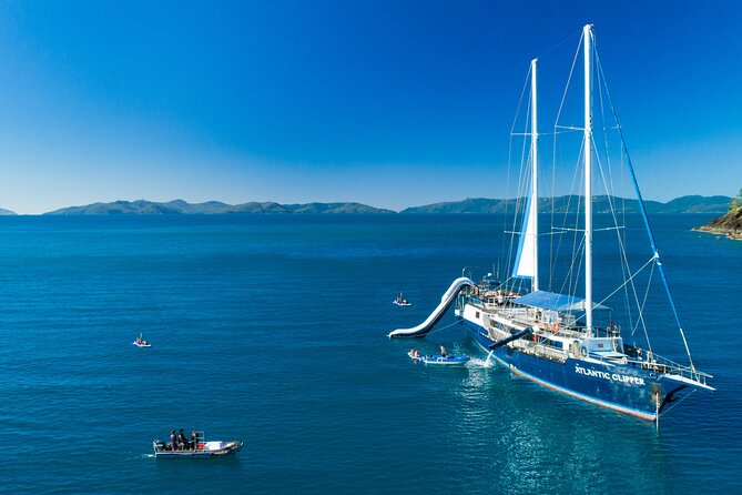 Day Sail the Whitsunday Islands on Atlantic Clipper from Airlie Beach
