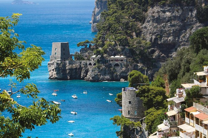 5 Days Guided Tour of the Amalfi Coast by Bus from Rome Airport / Station