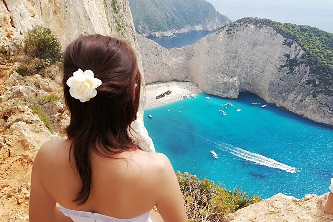 Zakynthos All Day Tour Shipwreck beach, view point-Blue Caves, small groups