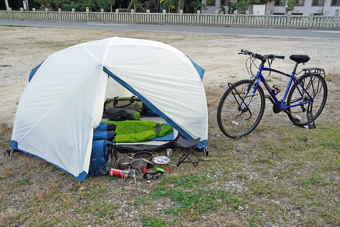 Camping and Cycling Equipment Rental in Shimanami