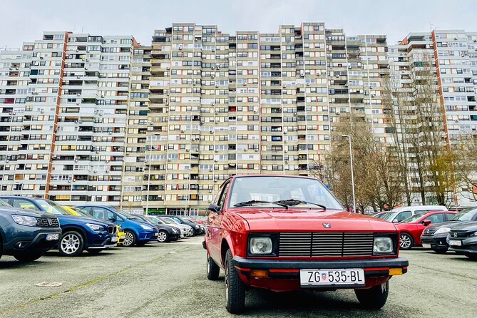 Back to Yugoslavia Private City Tour in Old-Timer Yugo Car