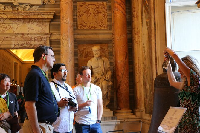 Detailed Itinerary Vatican, Sistine & St Peter's Tour with Privileged Entrance