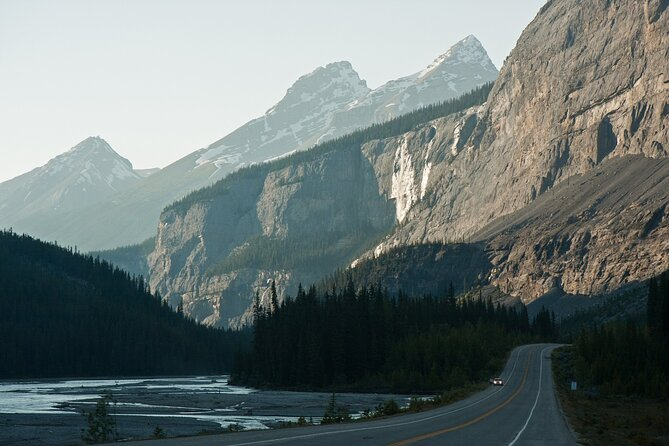 GPS-Guided Audio Driving Tour between Lake Louise and Revelstoke