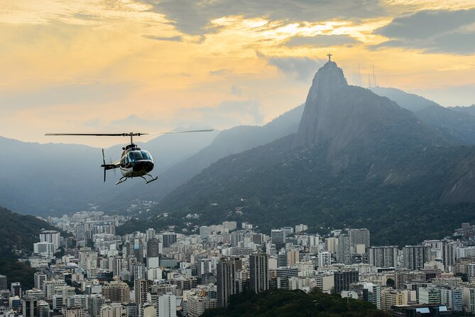 Private Helicopter Flight in Rio with optional Transportation