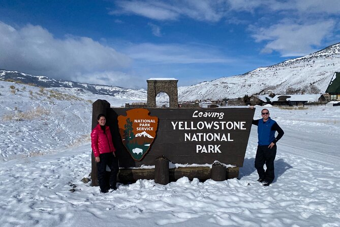Yellowstone Winter Private Tour from Bozeman