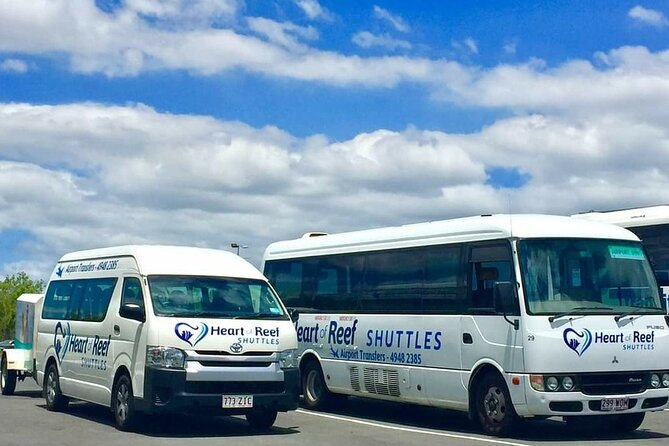 Shared Departure Transfer: Airlie Beach to Proserpine Airport