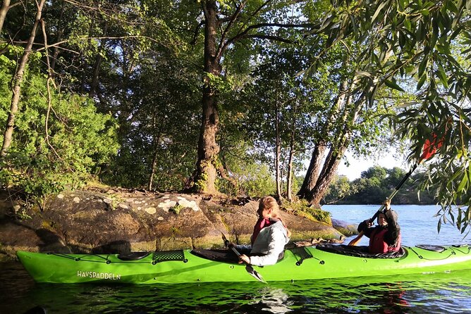 Sunset Kayaking Small-Group Tour in Stockholm with dinner