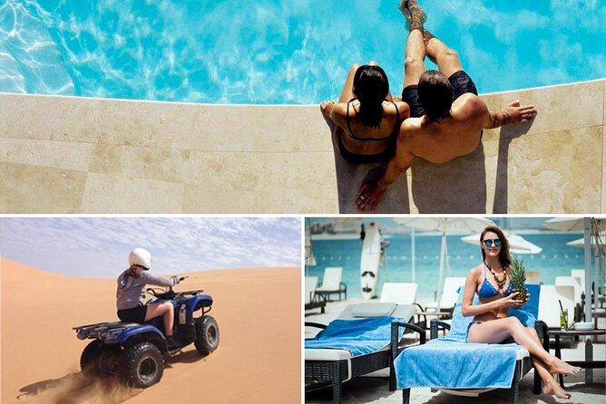 Red Dune Desert Safari with Private Beach & Pool Access