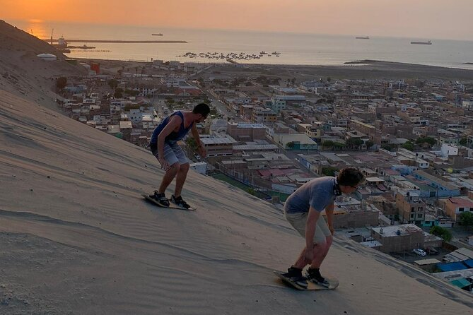 Sandboarding and Campfire Experience in Salaverry