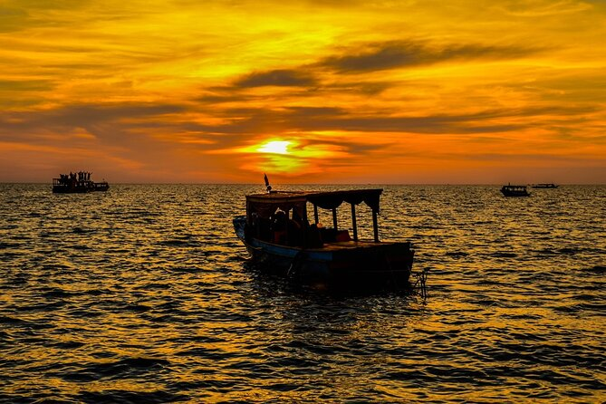 Sunset Cocktail Cruise on Tonle Sap Lake
