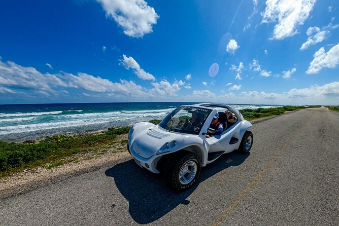 Private Cozumel Buggy Tour and ATV with Clear Boat Ride