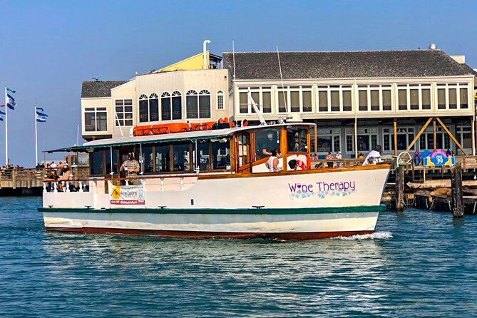 90 minute Daytime Tour aboard Wine Therapy