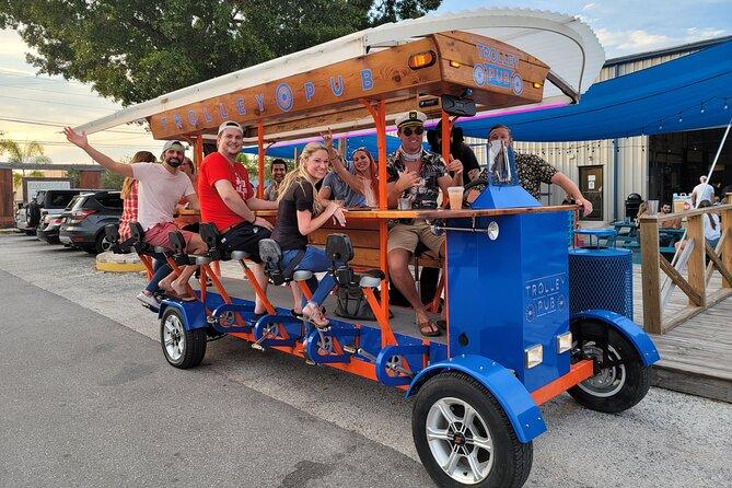 Trolley Pub Mixer Tour
