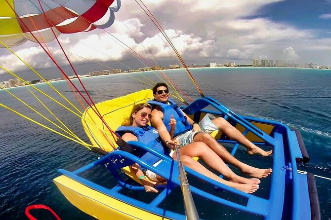 Sky Rider Lagoonside Parasailing in Cancún