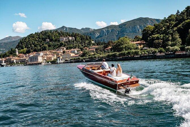 Cadenazzi Houten speedboot Privé tour op het Comomeer