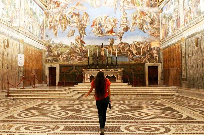 First Entry Vatican Gold Tour with Sistine Chapel