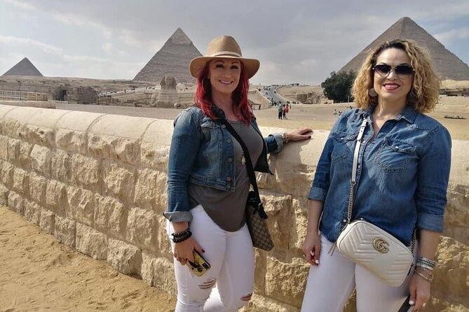 8-hours private Giza pyramids, camel ride ,lunch ,Sakkara pyramids& Memphis city