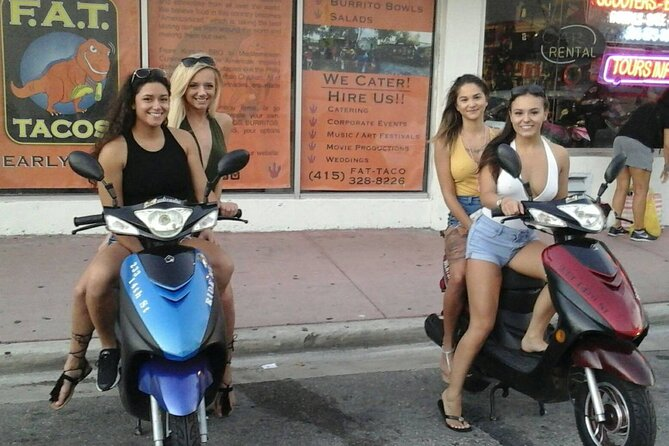 Small-Group Miami Beach Guided Scooter Tour