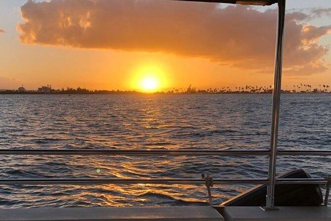 Sunset Harbor Boat Ride in San Juan