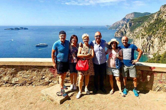 From Naples or Sorrento: Amalfi Coast experiences Positano, Ravello and Amalfi