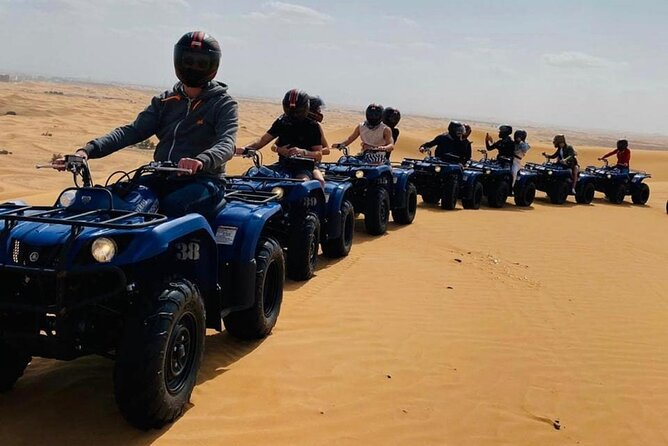 Full-Day ATV, Sandboard and Camel Ride Experience with Dinner