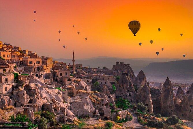 Deal Package : Cappadocia Red Tour + Hot Air Balloon Tour + Camel Safari