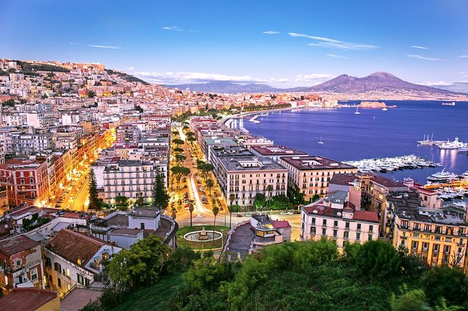 5 Days Guided Tour of the Gulf of Naples by Bus from Rome Station and Airport