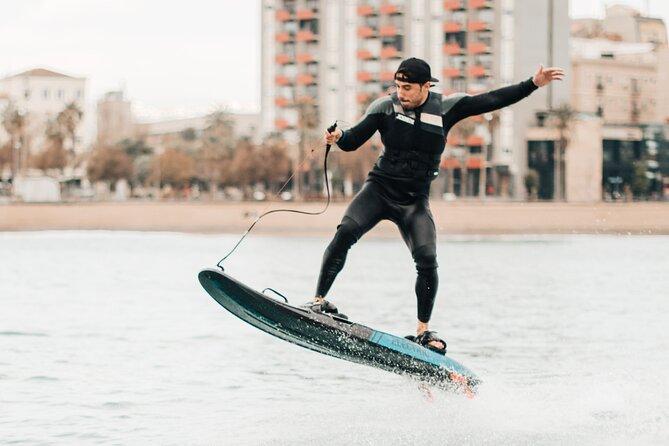 JETSURF session in Barcelona