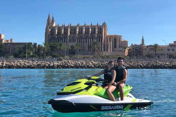Jetski Tour to the Emblematic Palma Cathedral