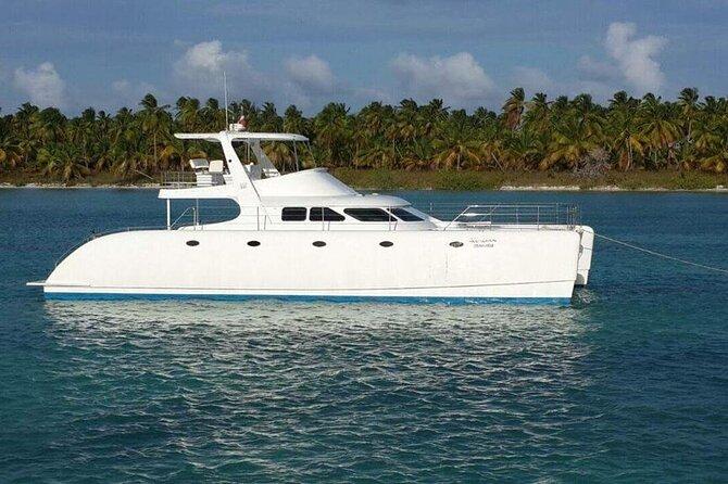 "Private 52"" Catamaran at Saona Island - Full Day Tour"