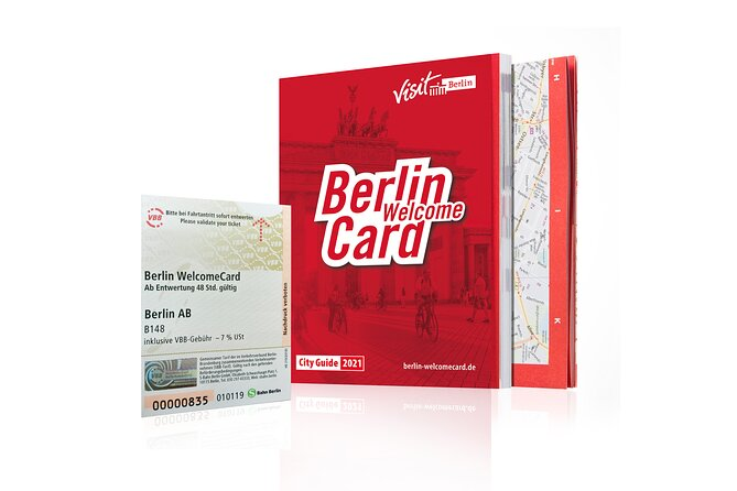 Berlin WelcomeCard (Including Public Transport & Discounts)