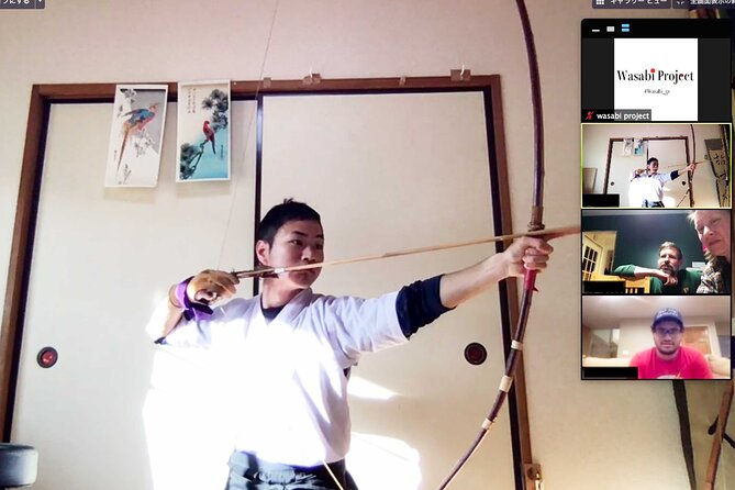 Online Japanese Archery Experience