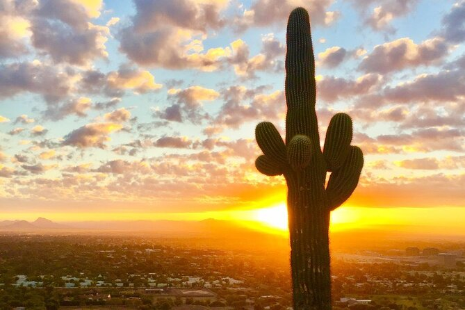 Stunning Sunrise or Sunset Guided Hiking Adventure in the Sonoran Desert