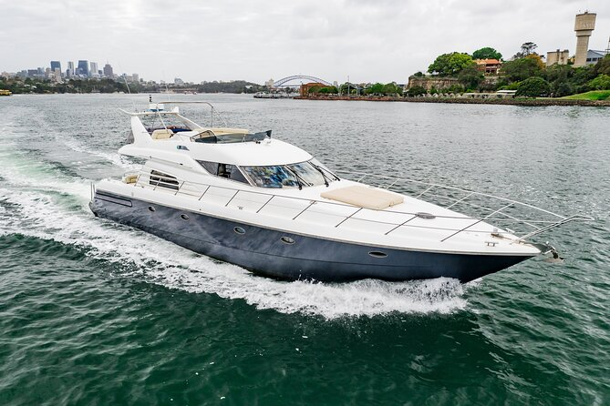 3-Hour Private Luxury Sightseeing Boat Charter on Sydney Harbour