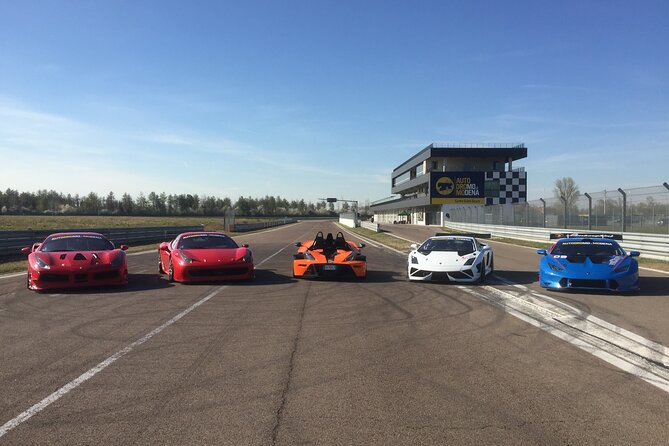 Private Track Tours with Race Cars at the Modena Autodrome