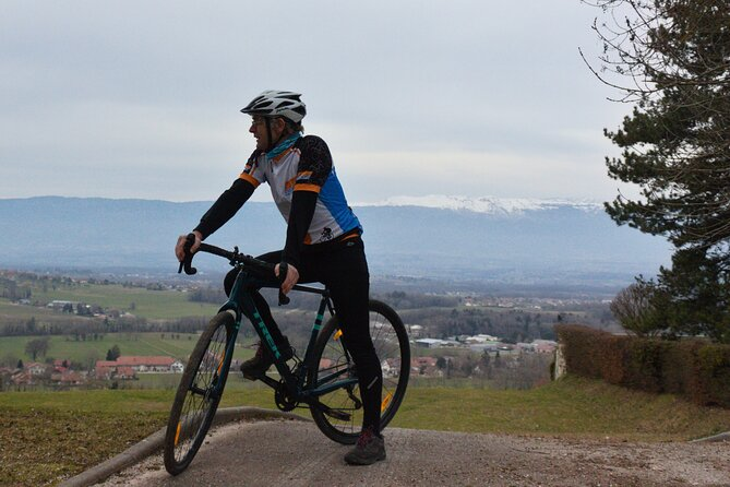 Self-Guided Gravel Bike Adventure in the Monts de Genève