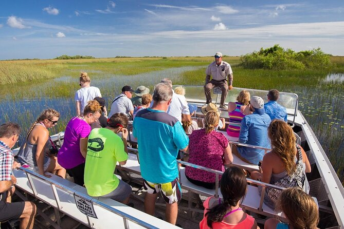 City Sightseeing, Biscayne Bay Cruise and Everglades Airboat Ride Tour