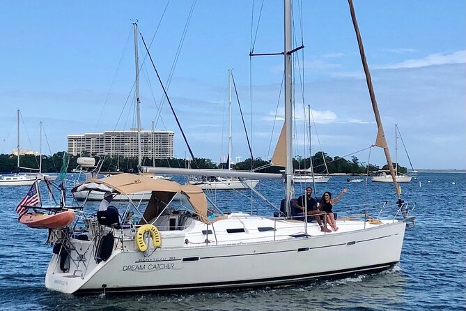 Private Sailing Charter in Miami for up to Four Guests
