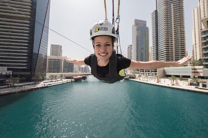 Zipline Experience In Dubai Marina With Optional Private Transfers 2021