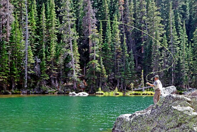 Full-Day Fly Fishing Trip in Rocky Mountain National Park from Denver/Boulder