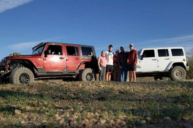 Private Sonoran Desert Trail Rated Jeep Night Tour and Critter Hunt