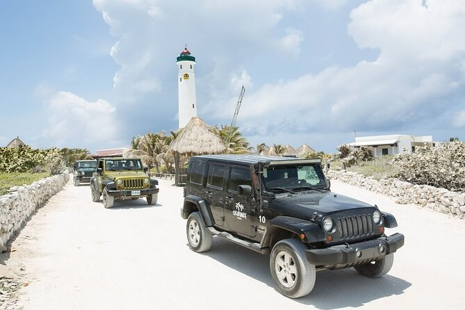 Full Day Tour with Lunch: Explore Cozumel Island by Jeep